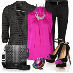 Workwear Fashion Outfits 2012 | Blazer 1 | Fashionista Trends