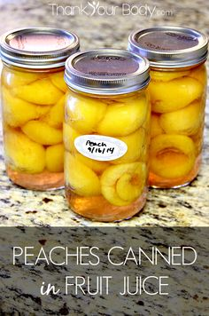 Fresh, organic peaches canned in fruit juice are like bottles of Summer sun in your pantry! Here's how to do it, step by step. No syrup, no chemicals!