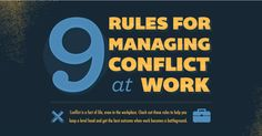9 Rules For Conflict Management At Work