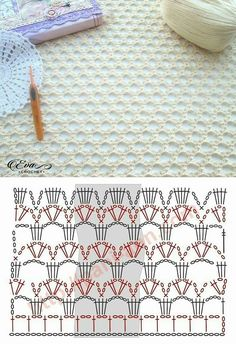 Good Photos Crochet Stitches chart Ideas While Daisy Town Projects is maintaining growth, I receive lots of email messages as well as questions about e. Filet Crochet, Beau Crochet, Crochet Stitches Chart, Crochet Diagram, Love Crochet, Crochet Motif, Beautiful Crochet, Crochet Designs, Crochet Baby