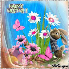 Bunny Flower Easter Animated Image easter easter quotes easter gifs happy easter quotes and sayings Easter Egg Crafts, Easter Art, Easter Bunny, Vintage Barbie Party, Ostern Wallpaper, Happy Easter Quotes, 21st Birthday Invitations, Images Wallpaper, Wallpaper Art