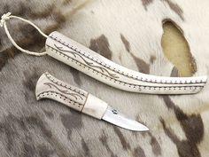 P. Jaakonaho full antler knife!