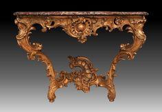 Console d'époque Louis XV - Modèle de Nicolas HEURTAUT - Tables  consoles