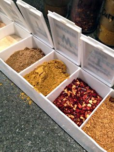Great idea for adding a little spice to your camping recipes! Use a pill reminder box and fill each compartment with various spices and seasonings. Saves space and helps make food taste better!