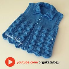 Diy Crochet Sweater, Baby Cardigan Knitting Pattern Free, Easy Knitting, Baby Knitting Patterns, Knitting Designs, Toddler Sweater, Newborn Hats, Baby Pullover, Crochet Baby Booties