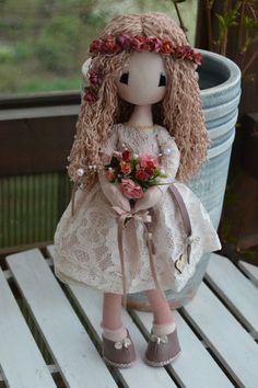 Lisa Dolls Lisa, Dolls, Handmade, Style, Fabric Dolls, Baby Dolls, Swag, Hand Made, Puppet