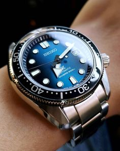 Seiko SPB083 Dream Watches, Cool Watches, Watches For Men, Seiko Automatic Watches, Seiko Watches, Great Blue Hole, Jewelry Gifts, Fine Jewelry, Seiko Men