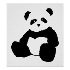 panda plush. poster