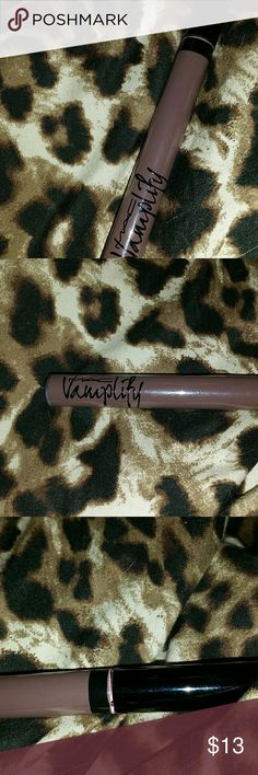 """Mac Vamplify in """"Absolute score"""" swatched 1x Hi there I'm poshing a very pretty,brown shade of lipstick by Mac! Just getting rid of some of my makeup stash that looks too similar to others nothing wrong with it! Actually I don't think that I ever used it but saying I swatched it once to be on the safe side, it has been sanitized! Thanks so much for looking and please bundle for a better savings :) MAC Cosmetics Makeup Lipstick"""