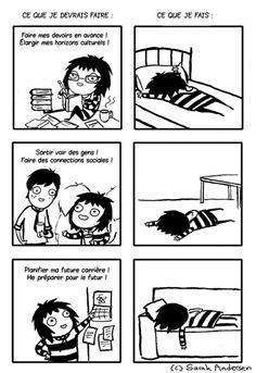 Des illustrations pleines d'humour qui résument les problèmes du quotidien des filles...