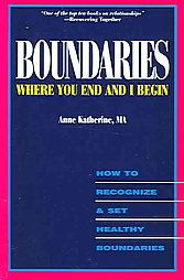 Boundaries bring order to our lives, strengthen our relationships with others and ourselves, and are essential to our mental and physical health. For those of us who have walked away from a conversation, meeting, or visit feeling violated and not under...