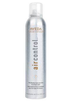 "A staple in almost all our stylists' tool kits, Aveda Air Control Hair Spray creates lasting hold and ""marathon style"" with organic flaxseed.  Aveda Air Control Hair Spray, $25; shop.nordstrom.com   - ELLE.com"