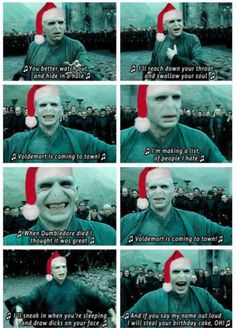Voldemort is coming to town