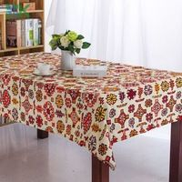 2016 Summer new Fashion rustic design printed dining table cloth table mat print table mats , freee shipping