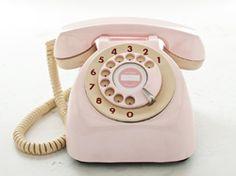 Urbano T-12 Pink 1950s Desk Phone
