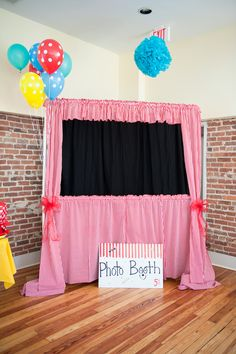 Make your own photo booth