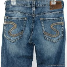 Silver Jeans Zac Mens Size 30 x 34 Medium Wash Denim Relaxed Fit Straight Leg | eBay