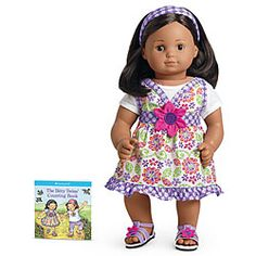 American Girl® Clothing: Wildflower Dress for Dolls