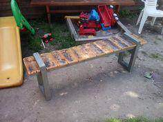 woodwork - my garden bench