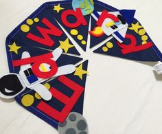 Space man bunting decoration by Bettybuntings on Etsy https://www.etsy.com/uk/listing/253744759/space-man-bunting-decoration