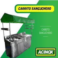 Carrito Sanguchero Modelo 4