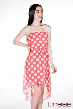 Vestido. Modelo 18277. Precio $240 MXN #Lineas #outfit #moda #tendencia #2014 #ropa #prendas #estilo #outfit #primavera #vestido