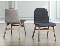Krzeslo ciemnoszare - krzeslo do kuchni i jadalni - MADOX