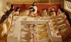 A detail from The Last Supper, which is one of Guardian member Simon Smith's…