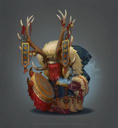 SnowFolk Shaman Boss by any-s-kill.deviantart.com on @DeviantArt