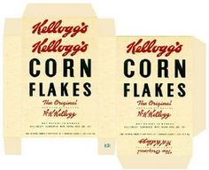 Miniature Printables - Corn Flakes Box.