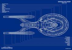 USS ENTERPRISE NCC-1701-E SOVEREIGN CLASS