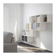 EKET Schrankkombination für Wandmontage - weiß - IKEA