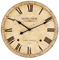 Vintage Clock Printables