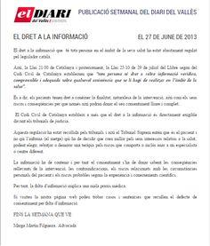 Negligencias Médicas: el derecho a la información  Completo en: http://www.grupomedicolegalbcn.com/es/seccion/articulos/