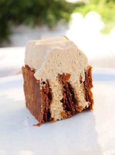 Mille feuille Dulcey vanille (pâte feuilletée inversée) - Recette Olivia Pâtisse Sweets, Shabbat Shalom, Desserts, Pastries, Food, Recipe, Cookies, Pies, Chocolate Pop Tarts