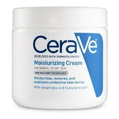 I love this moisturizer. It is amazing and thick and creamy and works wonders. It also contains hyaluronic acid which is naturally occurring in our bodies, and the same stuff they put into Juvaderm and Restalyne and other injectable skin fillers.