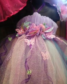 Butterfly TuTu Dress. Going to make this for my Jaelyn for Halloween❤