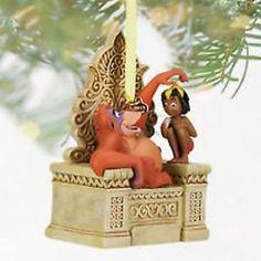 DISNEY-STORE-The-Jungle-Book-Mowgli-and-King-Louie-2013-Sketchbook-Ornament