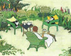 August Tea Time, by Vivian Swift.