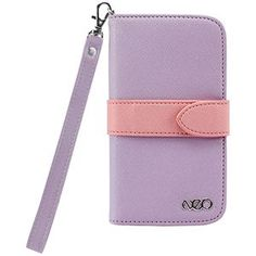 Cellet Neo Diary Wallet Case for Samsung Galaxy S4 - Purple/Pink: Cell Phones & Accessories
