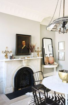 Interior Designer Jenny Wolf's eclectic brooklyn townhouse. / sfgirlbybay