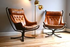Falcon Chairs- the perfect mix of comfy and industrial chic