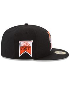 New Era Miami Marlins Game of Thrones 59FIFTY Fitted Cap - Black 7 5/8