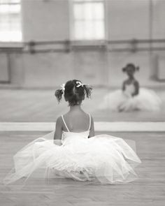 There is a little ballerina inside all of us. A dancer who doesn't fear mistakes who will take a risk to be the best she can be. Yes, there is a little ballerina inside all of us, we just have to take the risk of letting her out