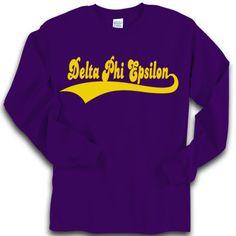 0a6fb68c Fraternity Baseball Styled Greek Longsleeve T-Shirt $19.95 #Fraternity  #Clothing #Greek Fraternity