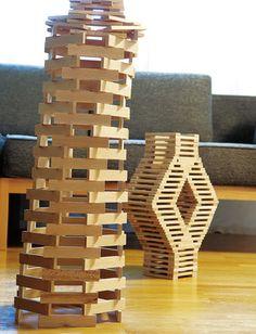 Öko Spielzeug | Schadstofffrei & natürlich Wooden Building Blocks, Wooden Blocks, Jenga, Magna Tiles, Toys For Boys, Kids Toys, Wood Block Crafts, Bamboo Art, Wooden Buildings
