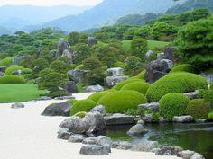 Adachi museum garden