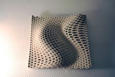 3D printed Ceramics by Richard Beckett Richard Beckett architect, Bartlett School of Architecture, 3D printing, Bio-design, Arch-T