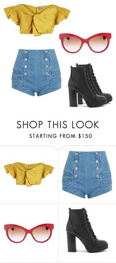 """""""Savvy Outfit"""" by sandramitchell on Polyvore featuring Rachel Comey, Pierre Balmain, Dolce&Gabbana and Steve Madden"""