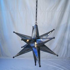 Smoked Glass Star Ch